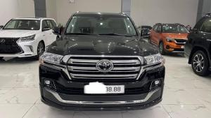 Bán Toyota Land Cruiser 5.7 VXS sản xuất cuối 2020, đăng ký 2021, lăn bánh 3000Km, mới 99,9%.