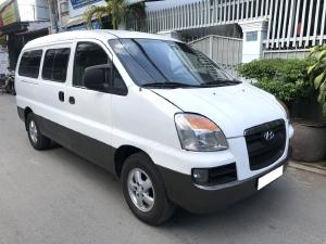 Cần bán Huyndai Starex bán tải 2005 đk 2007, 6 chỗ, 800kg, số sàn, máy dầu, màu trắng