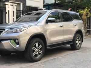 Cần bán xe Toyota Fortuner 2019, số tự động, bản full máy dầu, màu bạc