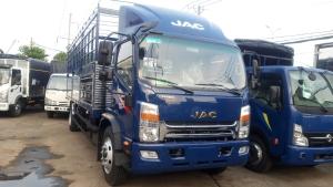Bán xe JAC N800 8 tấn thùng dài 7.6m máy cummins 3.8cc