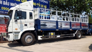 Gía xe JAC A5 9 tấn thùng dài 8.2m xe nhập khẩu 100%