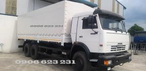 Tải thùng Kamaz 15 tấn , Bán tải thùng Kamaz 6m3 7m1