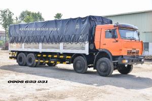Xe tải 4 giò Kamaz, Bán xe tải Kamaz thùng 9m