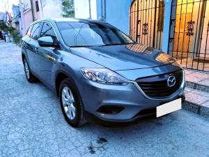 bán Mazda CX9 tự động 2014 bản full, màu Xanh đen