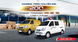 Xe tải Van 2 chỗ ưu đãi lớn trong tháng