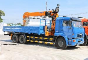 Xe tải cẩu 8 tấn