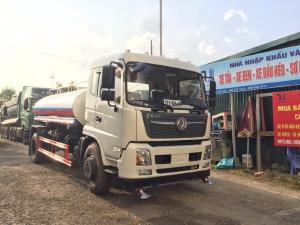 Xe bồn tưới rửa đường Dongfeng 9 khối nhập khẩu