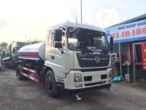 Dongfeng 9 khối nhập khẩu Xe bồn tưới rửa đường