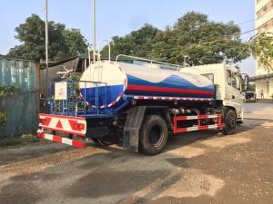 Dongfeng 9 khối bồn tưới rửa đường D nhập khẩu nguyên chiếc từ Trung Quốc,