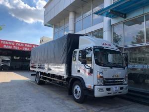 Jac N800 plus 8T thùng dài 7M6 có hổ trợ trả góp ngân hàng