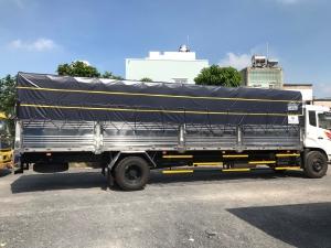 Xe tải dongfeng b180 tải 8 tấn thùng bạt dài 9.5m