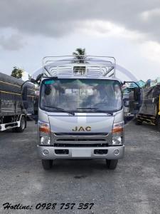 Xe tải jac n650 plus tải 6.5 tấn thùng bạt dài 6.2 m. Chỉ cần trả trước 220 triệu nhận xe ngay