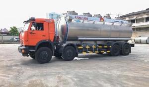 Xe bồn xăng Dầu 25m3 kamaz