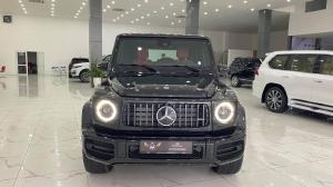 Bán Mercedes Benz G63 AMG màu đen, sản xuất 2021, xe giao ngay.