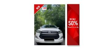 📌  Thanh lý Toyota Innova 2.0E số sàn- full option
