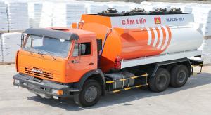 Bồn xăng dầu Kamaz 53229 bồn 18m3