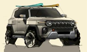 SsangYong lộ bản vẽ thiết kế SUV mới - cảm hứng từ Jeep