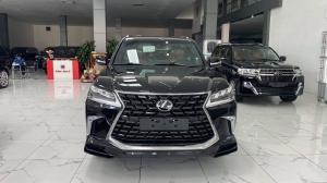 Bán Lexus LX570 Super Sport màu đen, sản xuất 2021, xe có sẵn giao ngay.