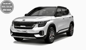 Kia Seltos 1.4T Premium màu trắng đen giao ngay