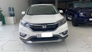 Bán Honda CR V 2.4 màu trắng, đăng ký 2017,lăn bánh cực ít,biển Hà Nội