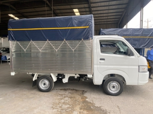 Bán xe tải Suzuki Carry Pro Thùng Mui Bạt Tải trọng 750kg Giá ưu đãi tháng 8