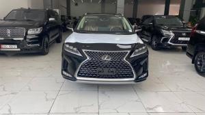 Bán Lexus RX350 Nhập Mỹ, màu đen, nội thất nâu da bò, sản xuất 2021, xe giao ngay.