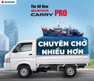 Suzuki Carry Pro Nhập khẩu Chuyên chở nhiều hon - Cộng sự đắc lực cho những chuyến hàng của bạn