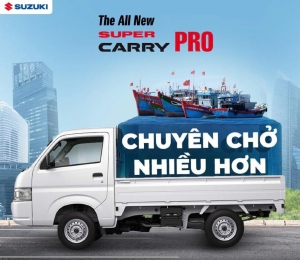 Suzuki Carry Pro Nhập khẩu 2021 Chuyên chở nhiều hơn cho những chuyến hàng của bạn