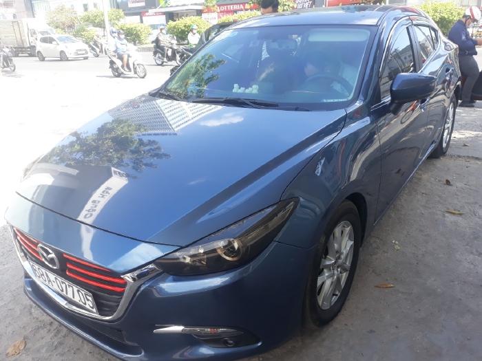 Bán Mazda 3 sedan 1.5AT Facelift màu xám xanh số tự động sản xuất cuối 2017 biển tỉnh đi 38000km 1
