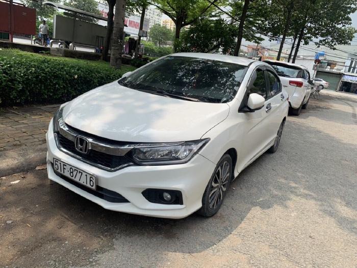 Bán Honda City 1.5CVT màu trắng số tự động sản xuất 2017 biển Sài Gòn 29000km 1