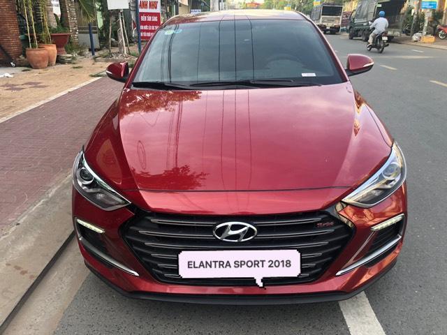 Bán Hyundai Elantra Sport 1.6AT Turbo màu đỏ số tự động sản xuất 2018 đi 6000km 4
