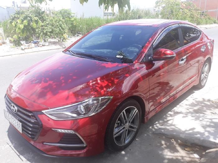 Bán Hyundai Elantra Sport 1.6AT Turbo màu đỏ số tự động sản xuất 2018 đi 6000km 5