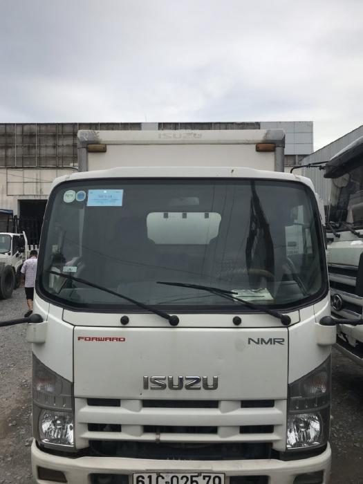 bán xe tải isuzu nmr đời 2011 thùng kín 2