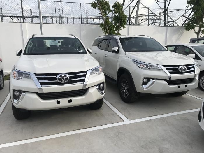Khuyến Mãi Toyota Fortuner 2.4G AT  Số Tự Động Tại Toyota An Thành Bình Chánh Xe Có Sẳn, Đủ Màu, Giao Ngay