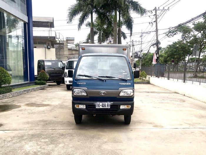 Giá xe tải 850kg, xe tải towner800, towner850a, xe tải nhỏ thaco trường hải, hỗ trợ trả góp 75% giá trị xe. 0
