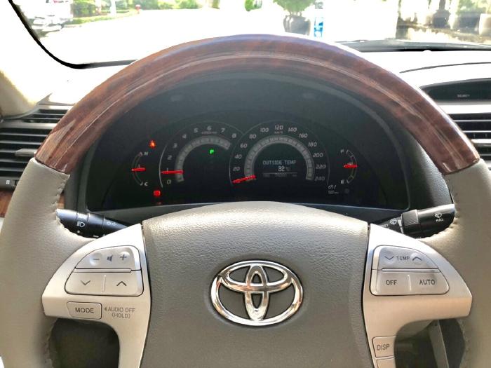 Bán Toyota Camry 2.4G 2009 màu đen, xe cũ 12