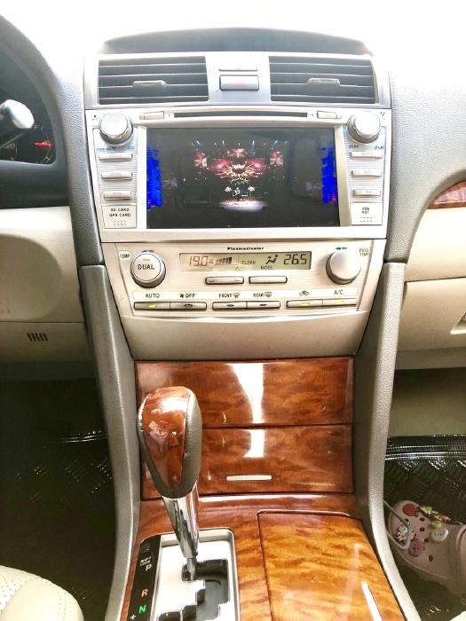 Bán Toyota Camry 2.4G 2009 màu đen, xe cũ 16