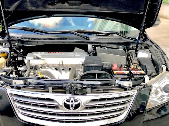 Bán Toyota Camry 2.4G 2009 màu đen, xe cũ 17