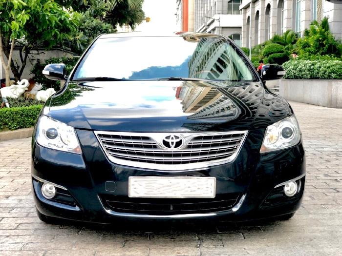 Bán Toyota Camry 2.4G 2009 màu đen, xe cũ 0