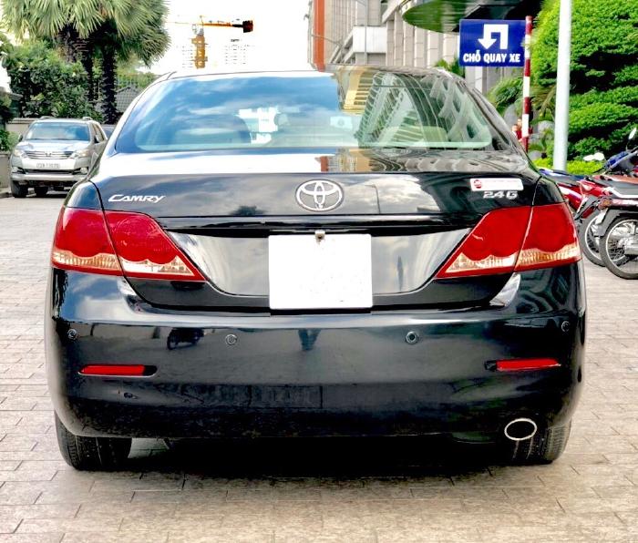 Bán Toyota Camry 2.4G 2009 màu đen, xe cũ 2