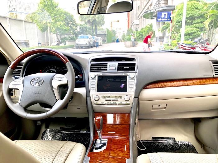 Bán Toyota Camry 2.4G 2009 màu đen, xe cũ 3