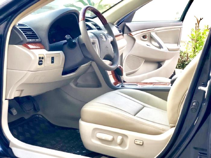 Bán Toyota Camry 2.4G 2009 màu đen, xe cũ 5