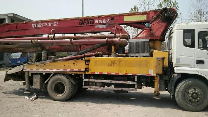 Xe bơm bê tông cần 32m, Xe nguyên bản, giá tốt, Hỗ trợ vay NH 1