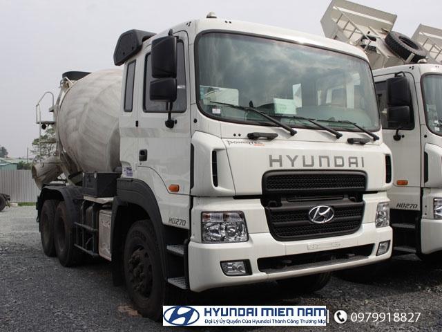 Xe Hyundai HD270 Trộn Bê Tông 0