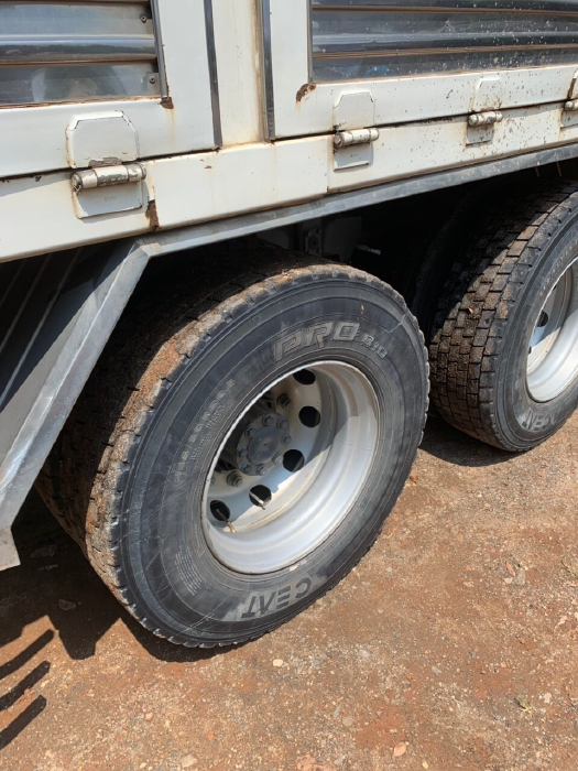 bán xe tải mitshu fuso 3 chân đời 2016 mui bạt 1
