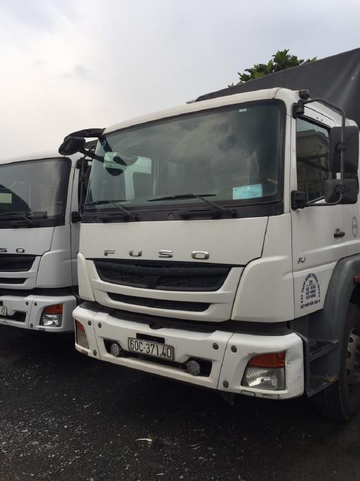 bán xe tải mitshu fuso 3 chân đời 2016 mui bạt 4