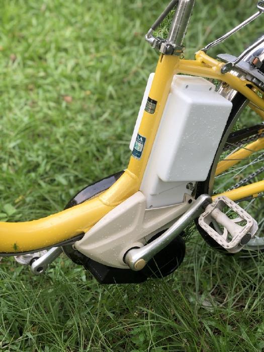 Bán xe đạp điện trợ lực tay ga hàng Nhật bãi cũ giá rẻ Tp HCM – Mã: X16