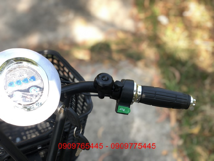 Bán xe đạp điện trợ lực tay ga hàng Nhật bãi cũ giá rẻ Tp HCM – Mã: X25