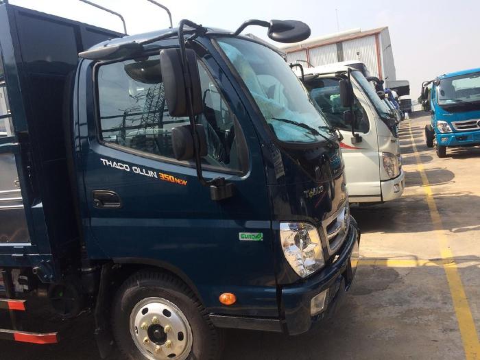 Bán xe tải THACO OLLIN 350 EURO4 động cơ CN ISUZU giá tốt nhất tại Đồng Nai 2