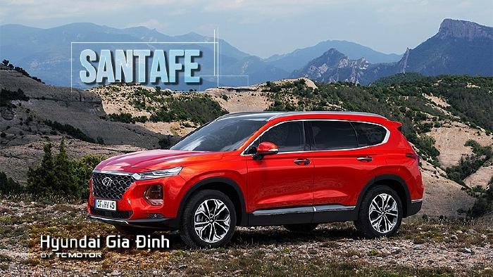 Hyundai Santafe 2020, đủ màu giao ngay 10